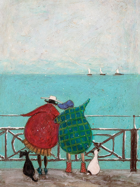 Sam Toft (We Saw Three Ships Come Sailing By) Canvas Prints