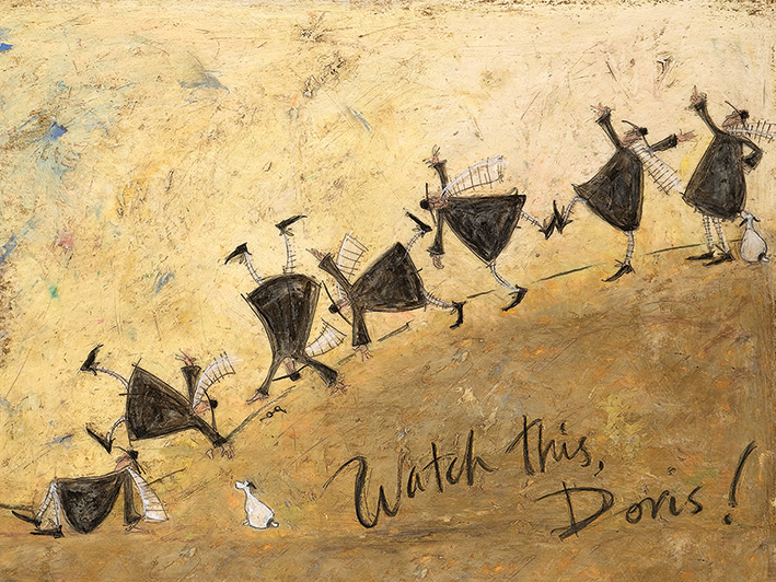 Sam Toft (Watch This, Doris!) Canvas Print