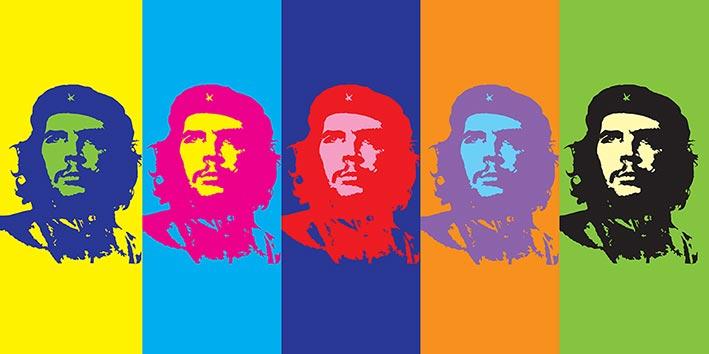 Che Guevara (Pop Art) Canvas Prints