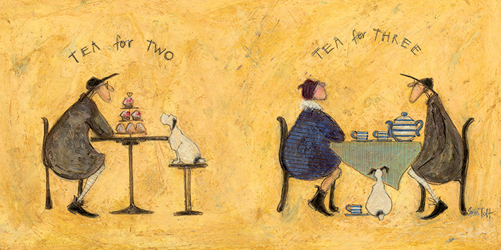 Sam Toft (Tea for Two Tea for Three) Canvas Prints