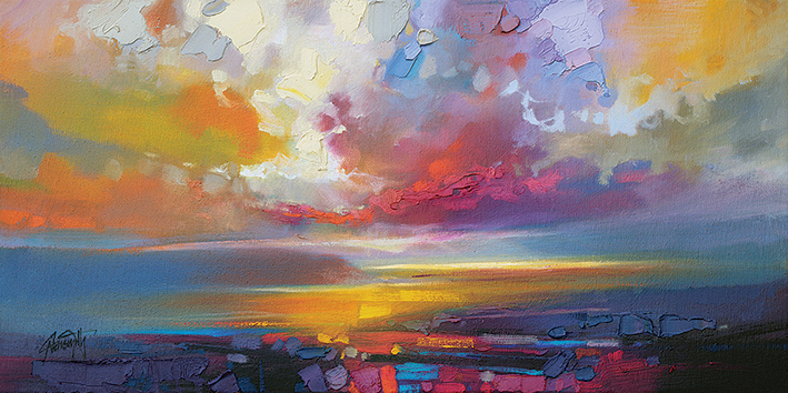 Scott Naismith (Uig Clouds) Canvas Prints