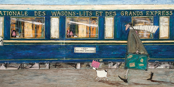 Sam Toft (Orient Express Ooh La La) Canvas Prints