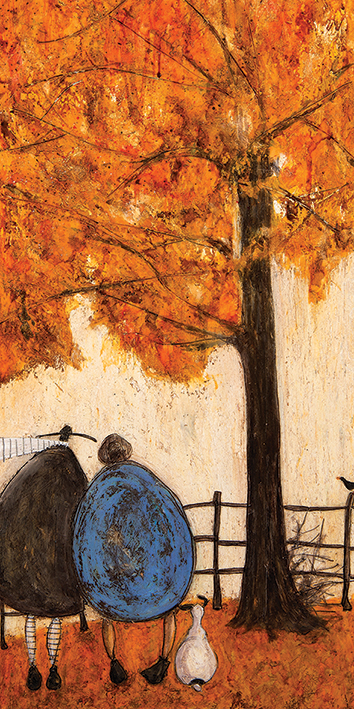 Sam Toft (Autumn) Canvas Prints