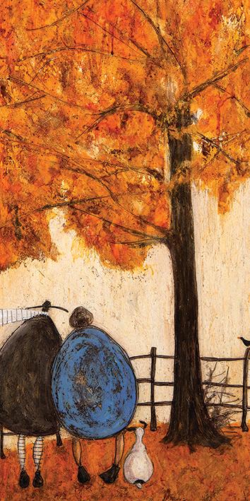 Sam Toft (Autumn) Canvas Print