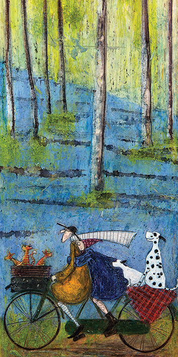 Sam Toft (Spring) Canvas Prints