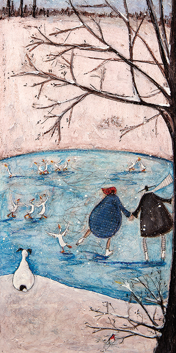 Sam Toft (Winter) Canvas Print
