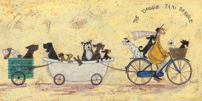 Sam Toft (The Doggie Taxi Service) Canvas Prints