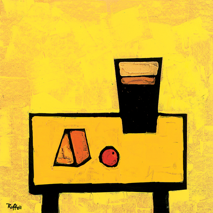 Colin Ruffell (Cheese and Guinness) Canvas Prints