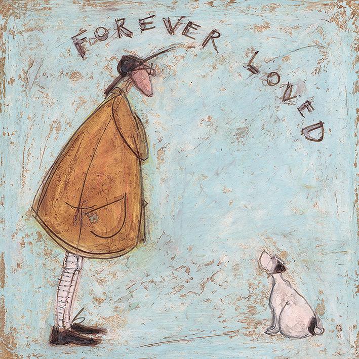 Sam Toft Art Prints PPR44465 ART PRINT 30cm x 40cm Waiting for Mr Lollyice