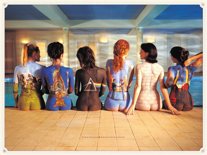Pink Floyd (Back Catalogue) Canvas Print