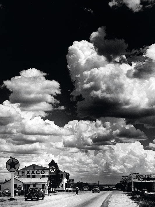 Time Life (Route 66, Arizona) Canvas Prints