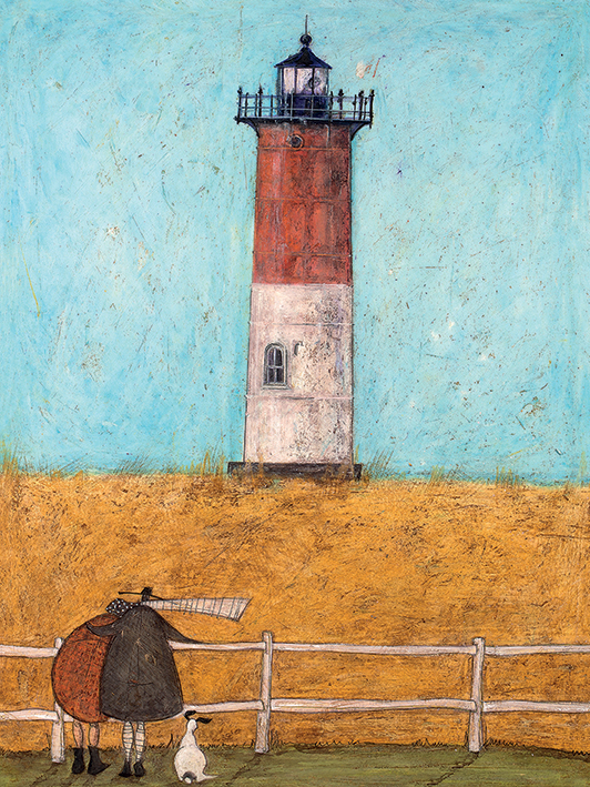 Sam Toft (Feeling the Love at Nauset Light) Canvas Prints