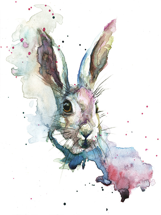 Sarah Stokes (March Hare) Canvas Prints