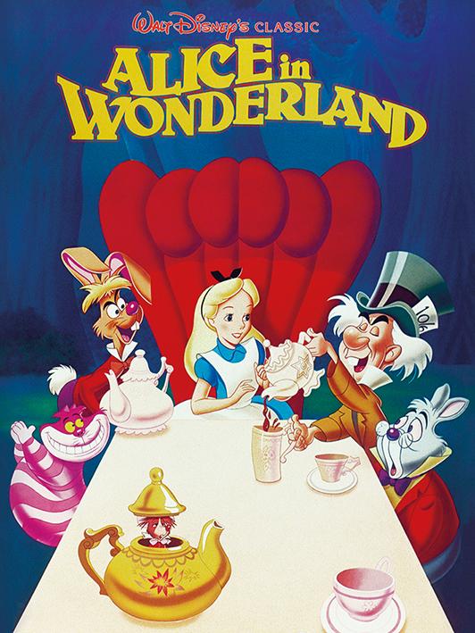 Alice In Wonderland (1989) Canvas Prints