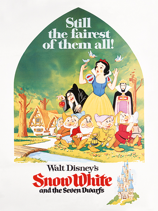 Snow White (Still The Fairest) Canvas Prints