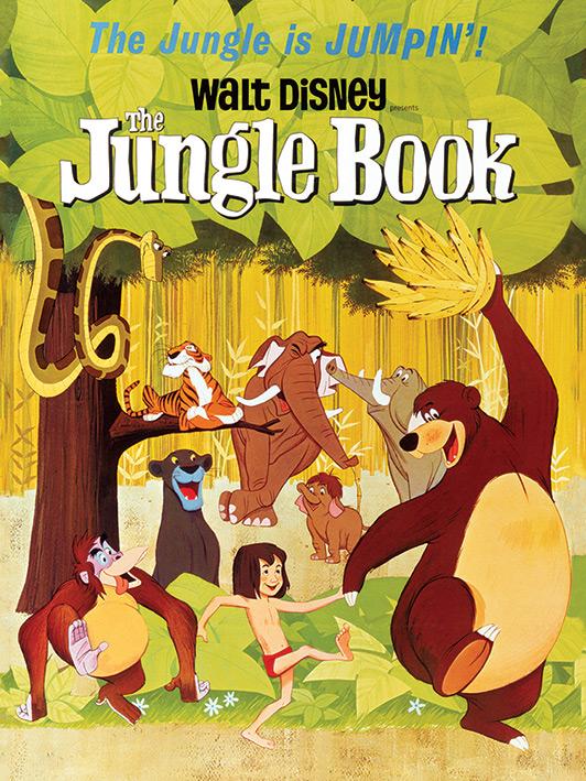 The Jungle Book (Jumpin') Canvas Print