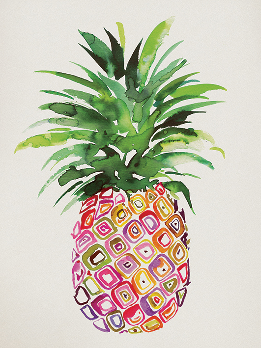 Summer Thornton (Pineapple) Canvas Prints