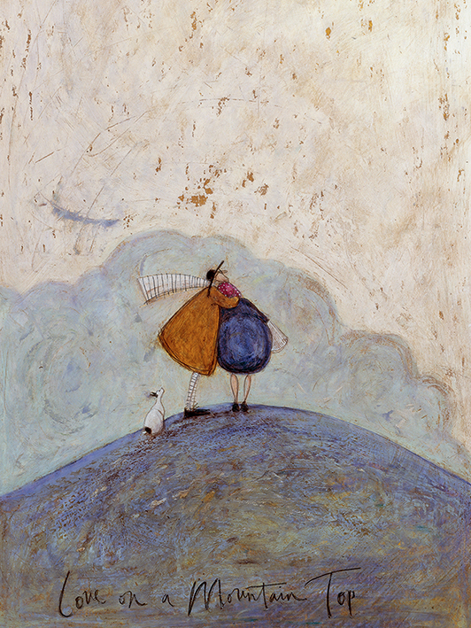 Sam Toft (Love on a Mountain Top) Canvas Print