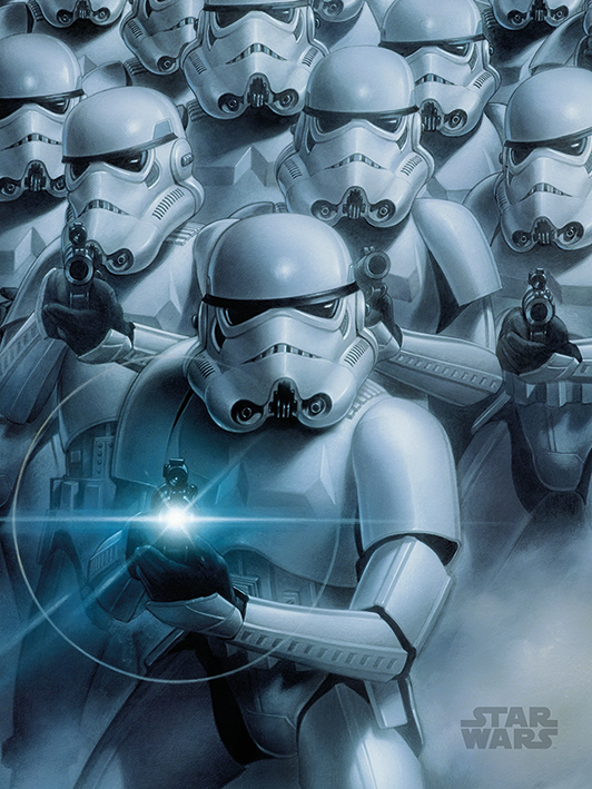 Star Wars (Stormtroopers) Canvas Prints
