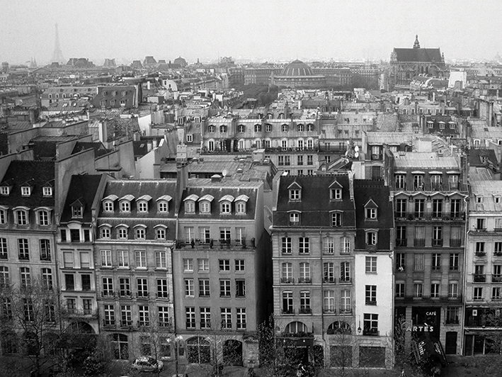Heiko Lanio (Parisian Rooftops) Canvas Prints