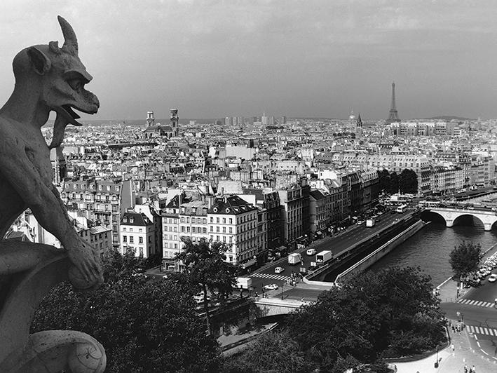 Heiko Lanio (View from Notre-Dame, Paris) Canvas Prints
