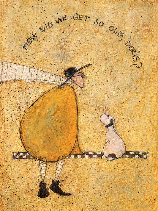 Sam Toft (How Did We Get So Old, Doris?) Canvas Print