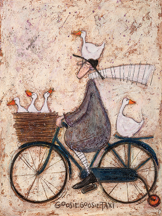 Sam Toft (GoosieGoosie Taxi) Canvas Prints