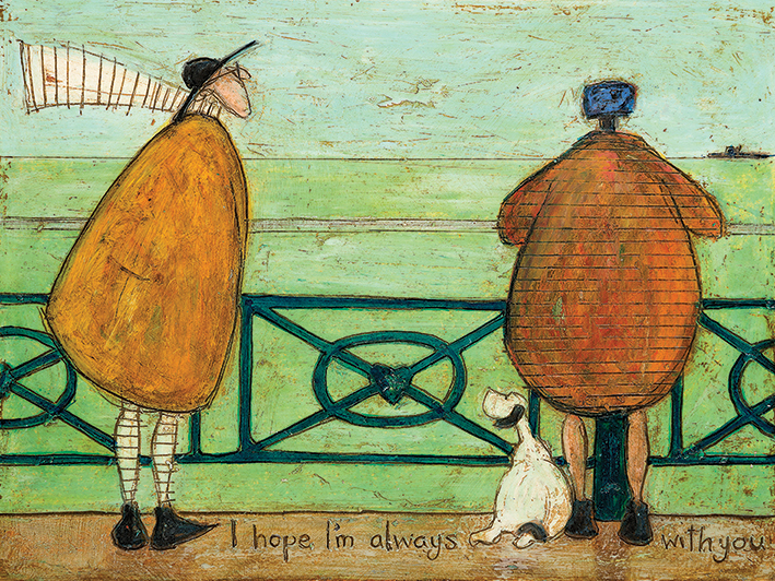 Sam Toft (I Hope I'm Always with You) Canvas Prints
