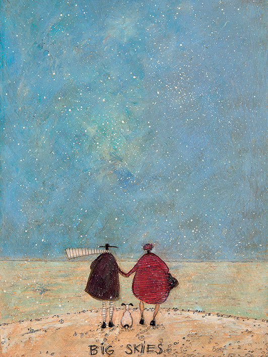 Sam Toft (Big Skies) Canvas Prints