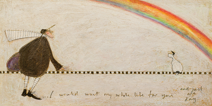 Sam Toft (I Would Wait My Whole Life For You) Canvas Prints