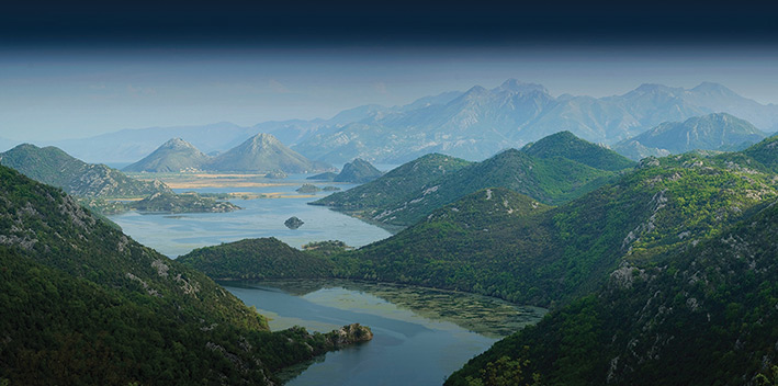 Rod Edwards (Lake Skadar, Montenegro) Canvas