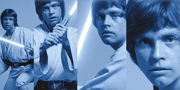 Star Wars (Luke Skywalker Pose) Canvas Print