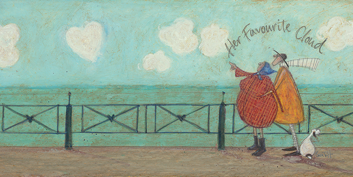 Sam Toft (Her Favourite Cloud II) Canvas Prints