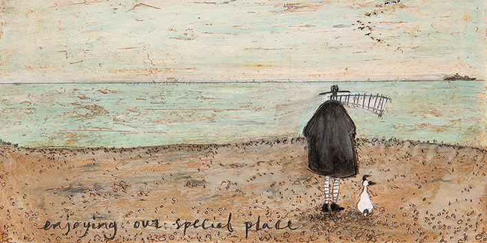Sam Toft (Enjoying our Special Place) Canvas Prints