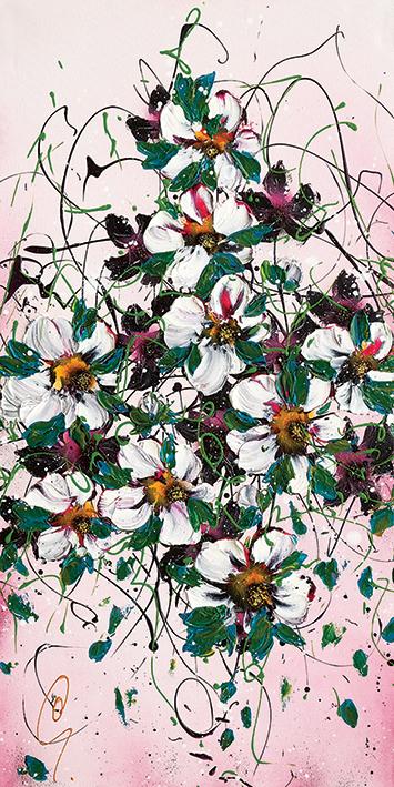 Clare Sykes (Tumble Tiara) Canvas Prints