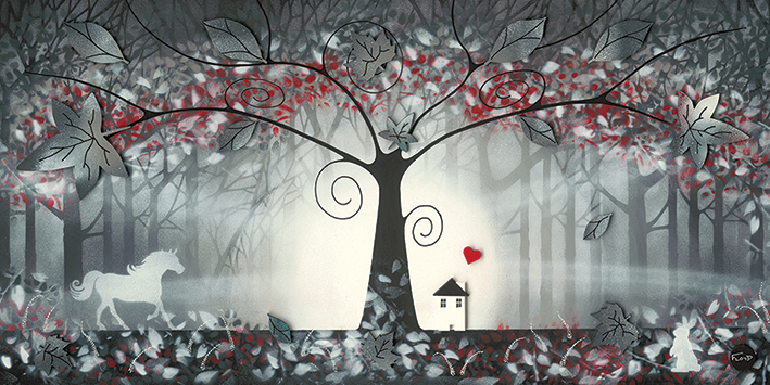 Garry Floyd (The Enchanted Forest I) Canvas Prints