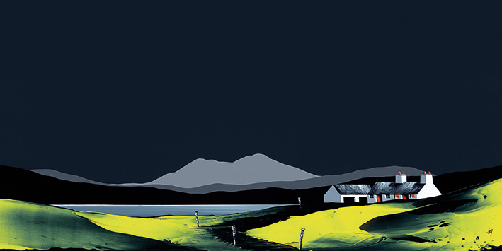 Jay Nottingham Art Print PPR41235  size 50 x 100cm The Old Boat House