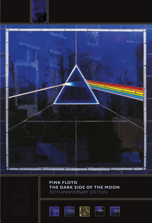 Pink Floyd (Dark Side Of The Moon, 30th Anniversary) Canvas Prints