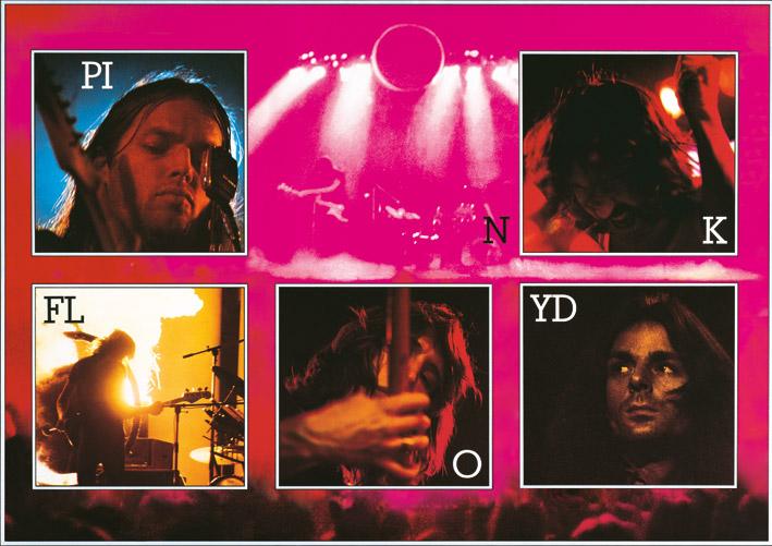 Pink Floyd (Live) Canvas Print
