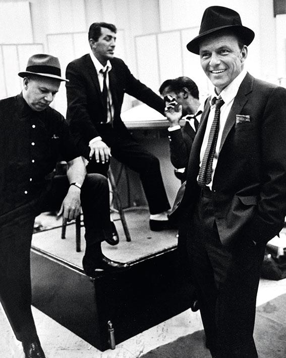 Time Life (Dean Martin, Sammy Davis Jr. and Frank Sinatra) Canvas Print