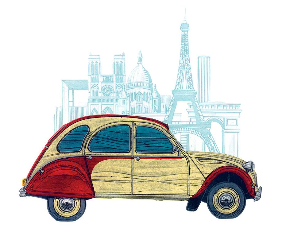 Barry Goodman (CV Paris) Canvas Prints
