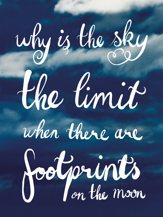 Why Is The Sky The Limit Canvas Prints