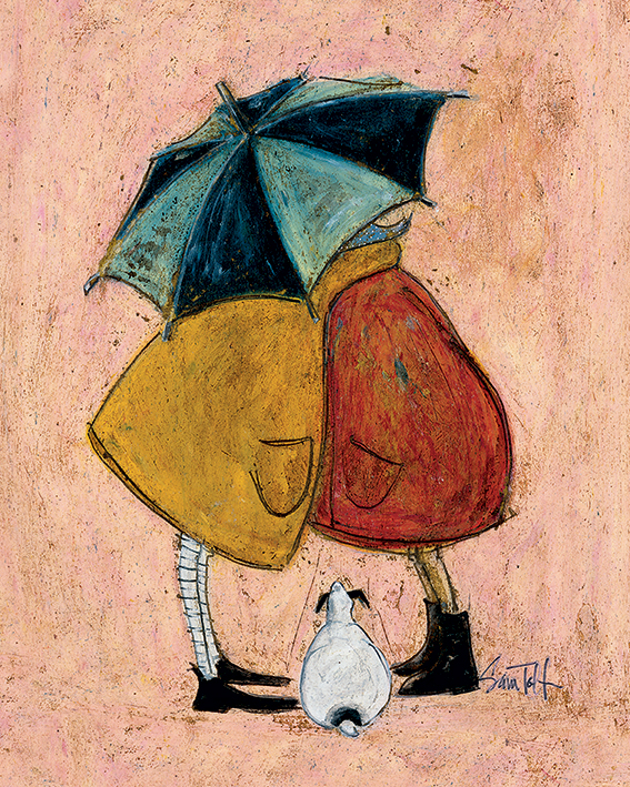 Sam Toft (A Sneaky One) Canvas Print