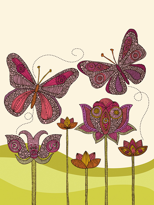 Valentina Ramos (Butterflies) Canvas Print