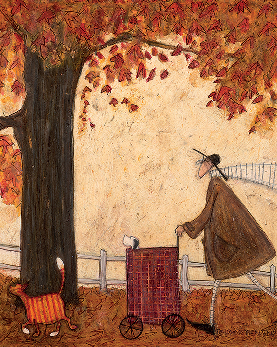 Sam Toft (Following the Pumpkin) Canvas Print