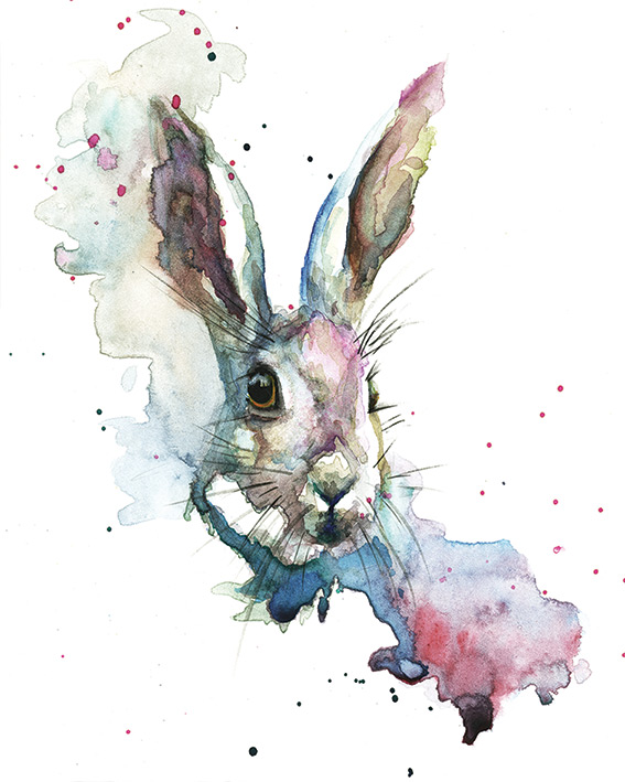 Sarah Stokes (March Hare) Canvas Print