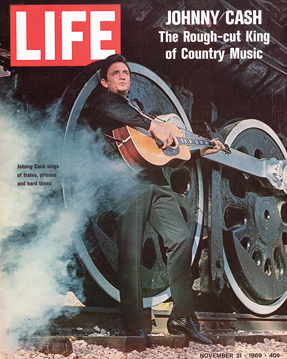 Time Life (Johnny Cash - Cover 1969) Canvas Print