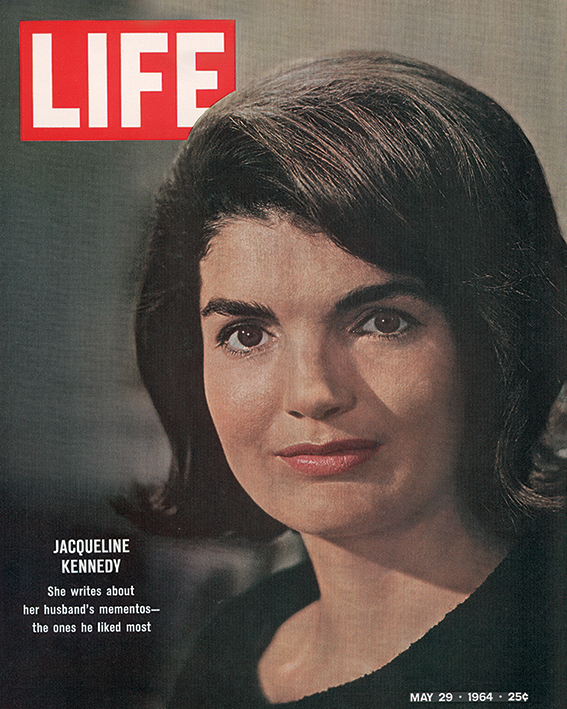 Time Life (Jackie Kennedy - Cover 1964) Canvas Print