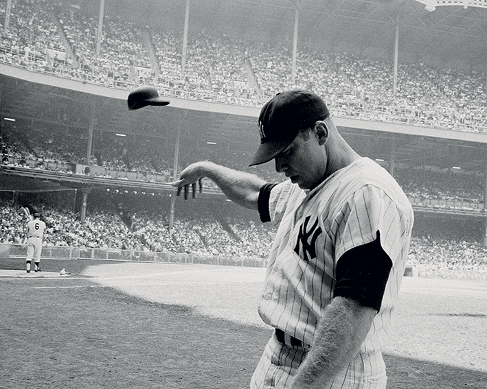 Time Life (Mickey Mantle 1965) Canvas Print
