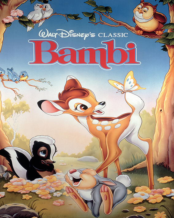 Bambi Canvas Prints